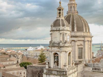 Catania dall'alto: vista dalla Chiesa della Badia di Sant'Agata
